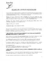 Compte Rendu du 23-01-2020