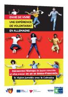 Dépliant Volontariat Allemagne 2021